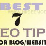 SEO Tips for blogs and websites 600x375 1 - HiideeMedia