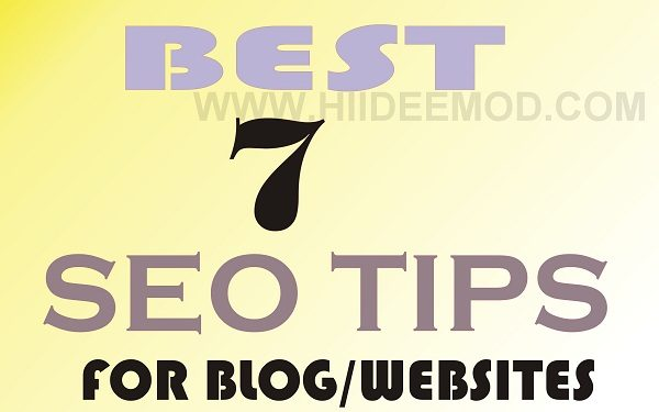 SEO Tips for Blogs and websites