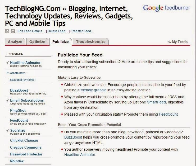 How to Setup Feedburner to Auto Share your Blog Posts on Social Networks - https://hiideemedia.com