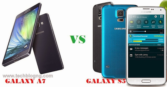galaxy a7 vs galaxy s5