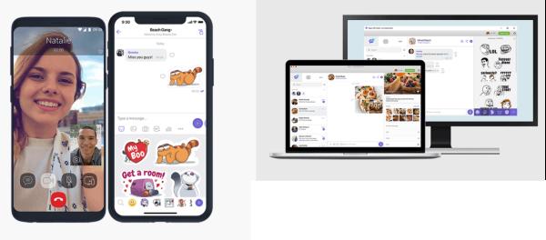 Viber video call app - HiideeMedia