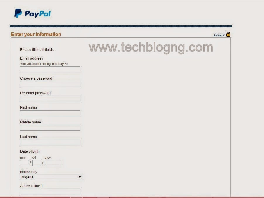 How I Registered & Verified a Paypal Account as Nigerian