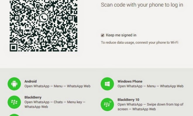 whatsapp on your PC