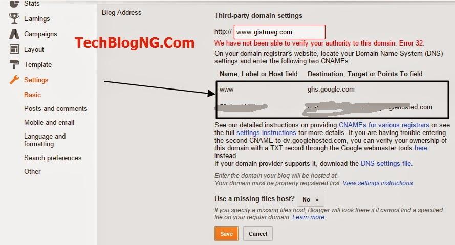 godaddy2blogger4 techblogng - HiideeMedia