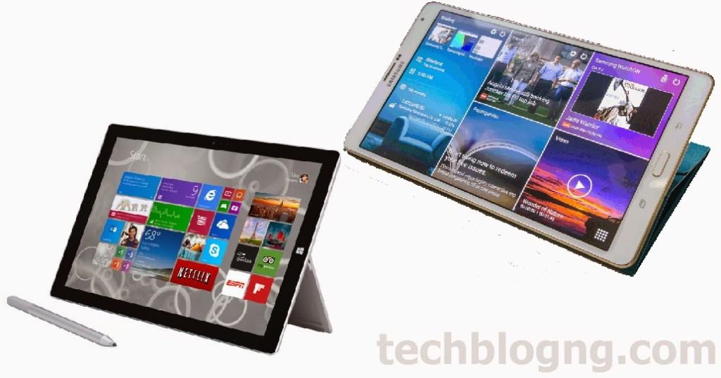 surface-pro-3 vs Samsung Galaxy Tab S 8.4 - techblogng