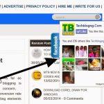 floating facebook like techblogng - HiideeMedia