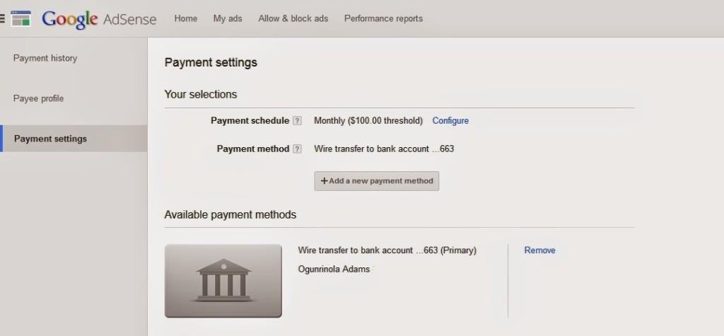 adsense payment settings2 techblogng 1024x475 1 - HiideeMedia