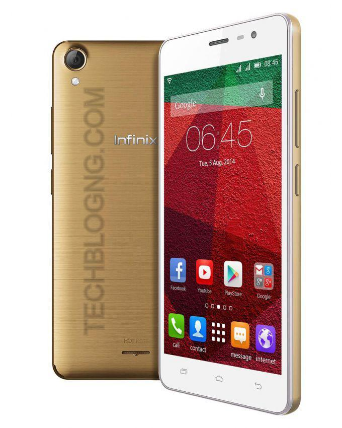 Infinix Hot Note PRO Specifications, Features & Price