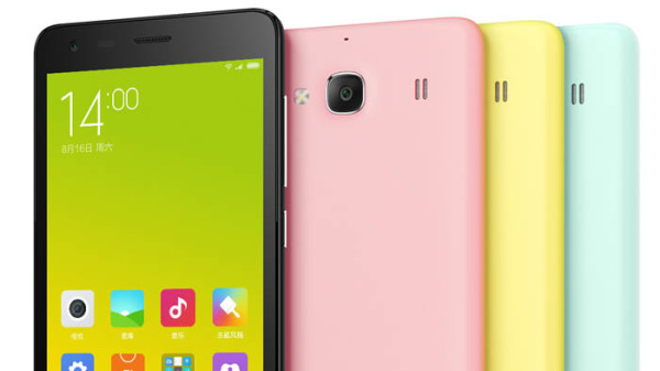 Xiaomi Redmi 2 pro back and front