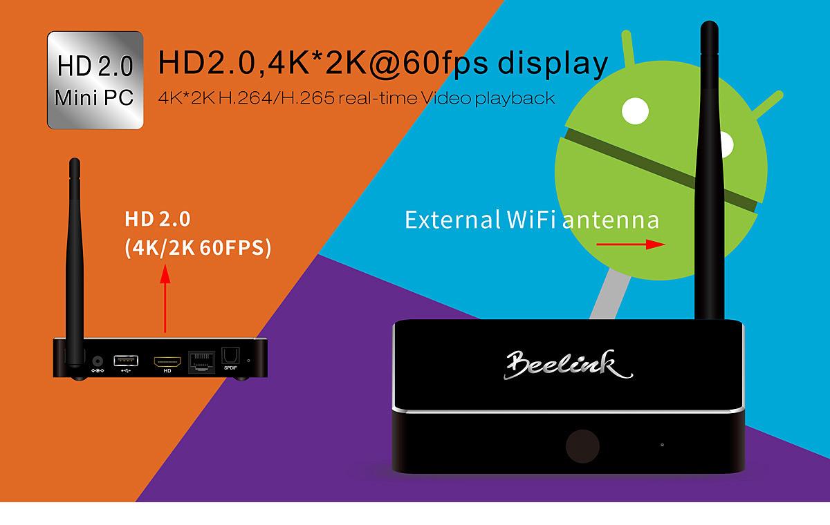 Beelink R68 TV Box RK3368
