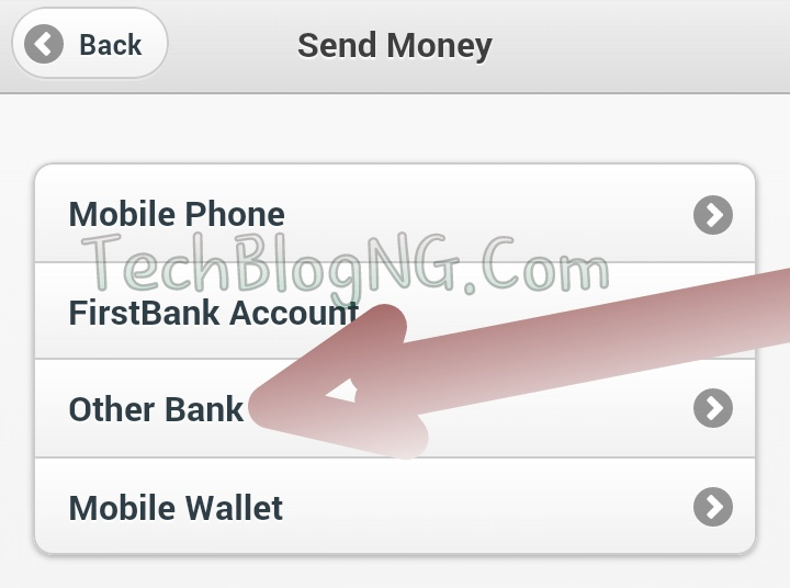 send money to other bank