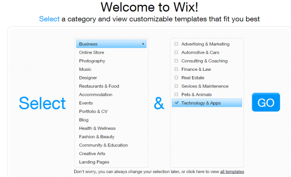 how to use Wix website builder