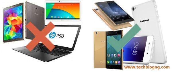 smartphones vs laptop PC