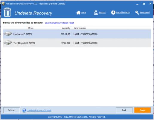 MiniTool Power Data Recovery - Undelete Recovery