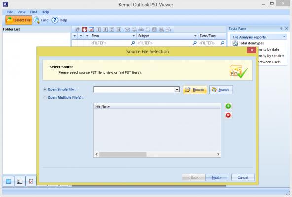 Kernel Outlook PST Viewer