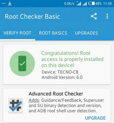 how to root Camon C8 MarshMallow