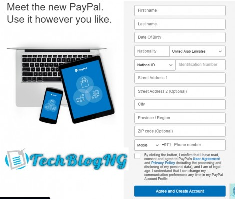 How I Registered Verify UAE Paypal Account in Nigeria4 471x400 1 - How I Registered & Verify UAE Paypal Account using Payoneer