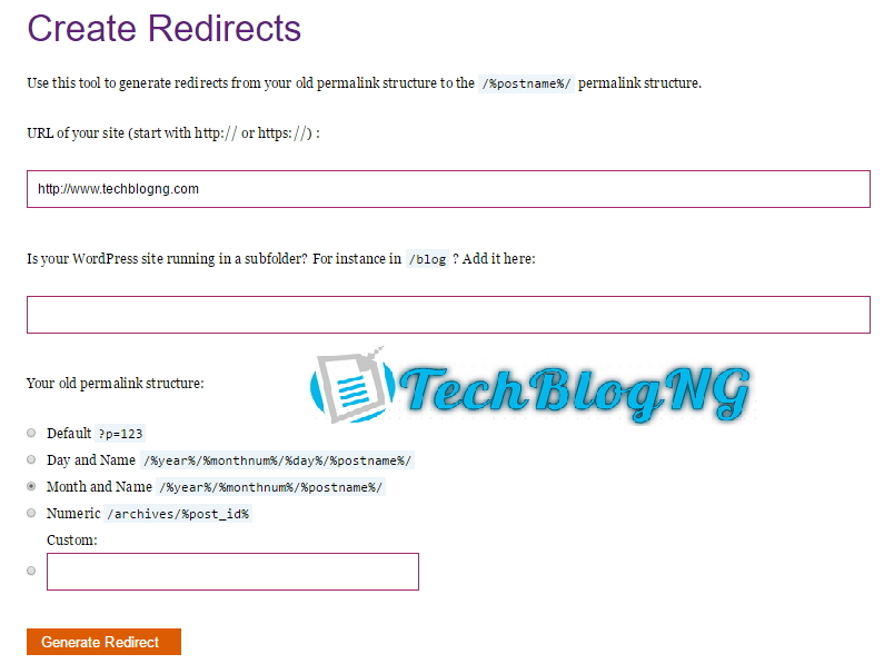 301 Redirect Old Posts Without Altering SEO & Backlink