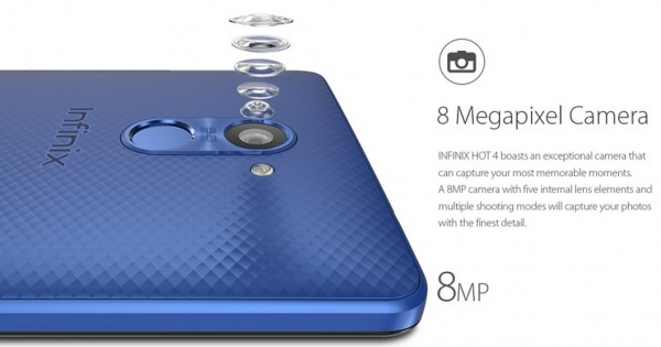Infinix Hot 4 X557, Infinix x557, Elegant Design, Faster Processor and Huge Battery Life