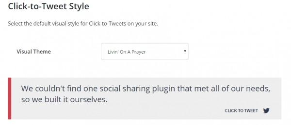 click to tweet - social warfare