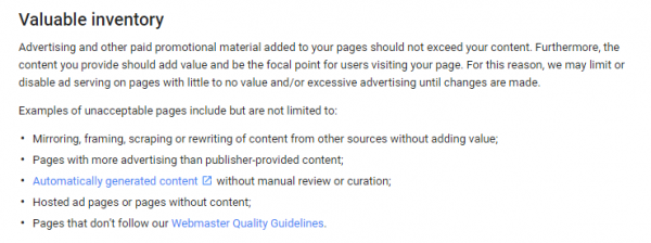 Google Adsense Ads Per Page