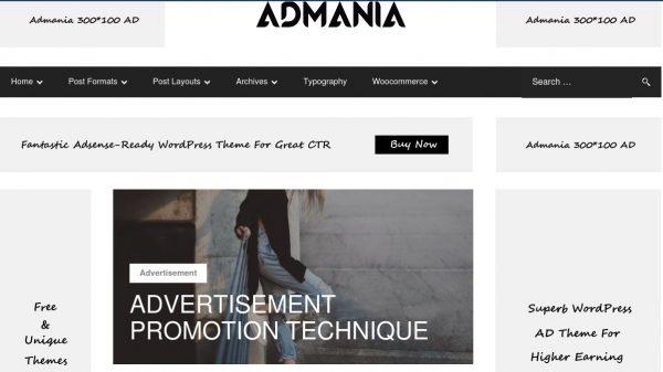 Admania WP Theme 600x337 1 - HiideeMedia