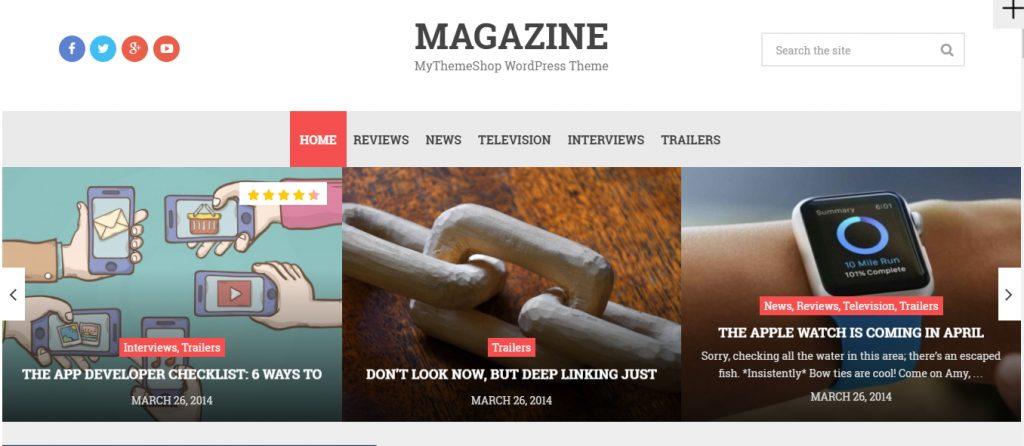 Magazine Wordpress theme 1024x446 1 - HiideeMedia