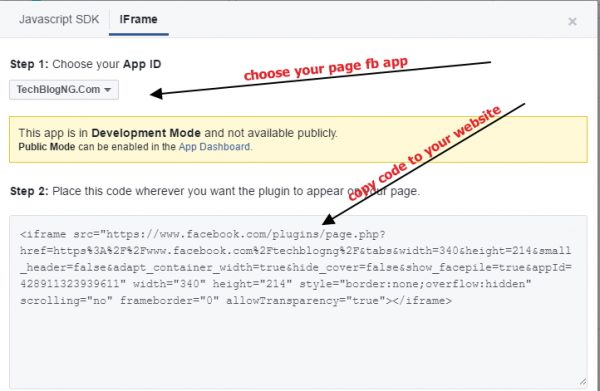 create facebook fan page widget for website 600x391 1 - HiideeMedia
