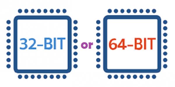32-bit or 64-bit version