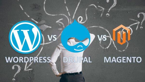 How To Choose Better Platform WordPress, Magento or Drupal