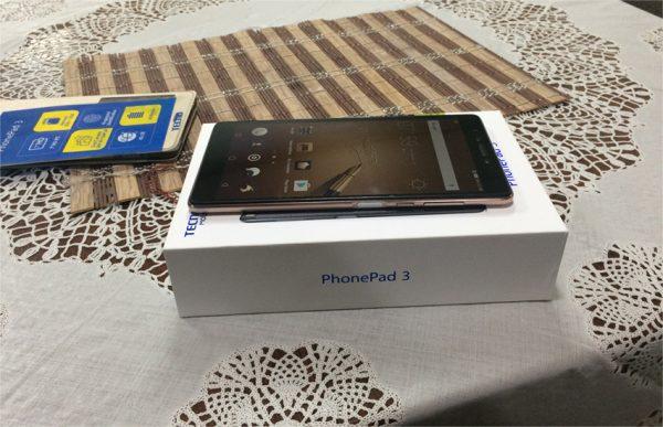 Tecno Phonepad 3 unboxing