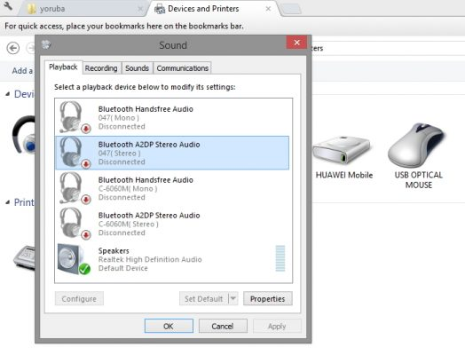 connect to bluetooth headset or theatre