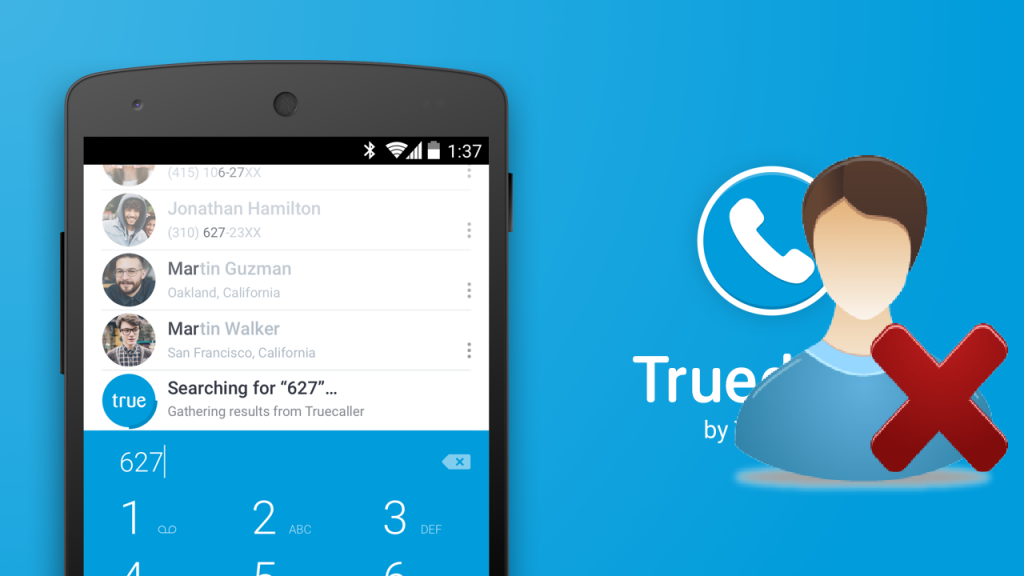 remove contact from truecaller