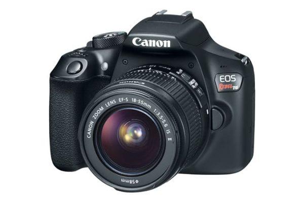 Canon EOS Rebel T6 Digital DSLR camera