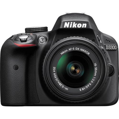 Nikon D3300 24.2MP CMOS DSLR Camera