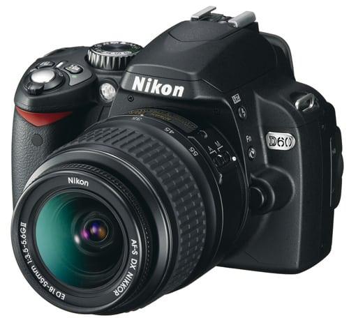 Nikon D60 DSLR Camera