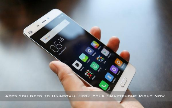 apps to uninstall from your smartphone