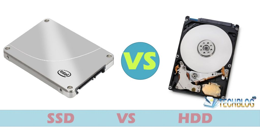 solid state drive (SSD) vs hard disk drive (hdd)