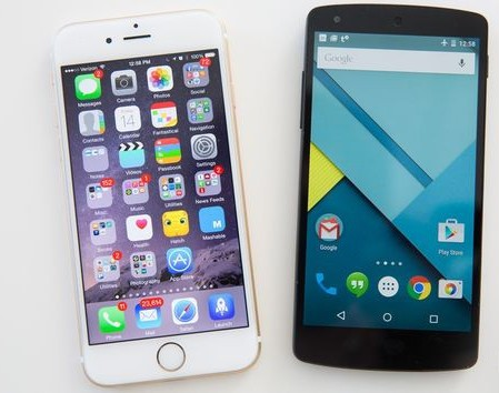 android vs ios customization