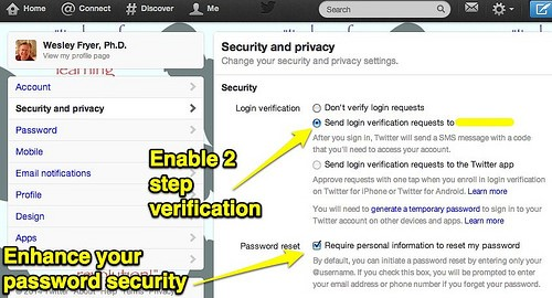 enable two step verification on icloud