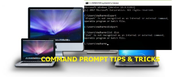 command prompt tips and tricks
