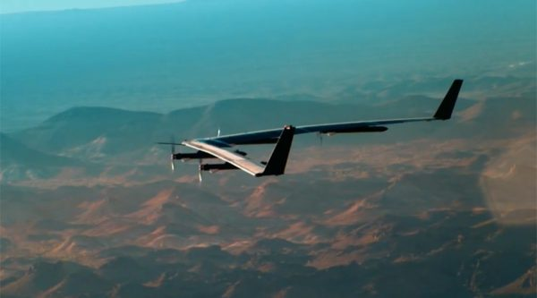 Facebook Launches Solar-Powered Internet-Beaming Drone