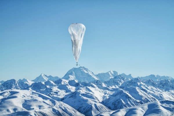 Google Floats Balloon-based Internet Access