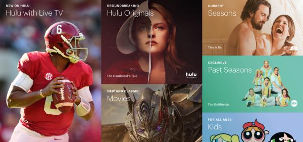 Hulu Hulu- netflix alternatives
