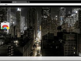 Night Time In New York City theme - HiideeMedia