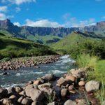 Hike at The Drakensberg KwaZulu Natal - HiideeMedia
