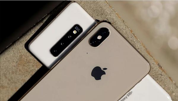 GalaxyS10+ vs iPhone Xs max camera