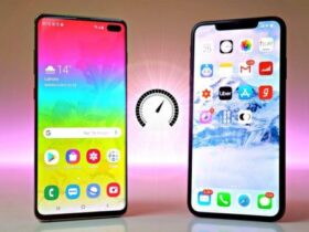 GalaxyS10vsiPhoneXsmax techblogng 600x338 1 280x210 - Galaxy S10+ VS iPhone XS MAX - Which of the Giant Wins?