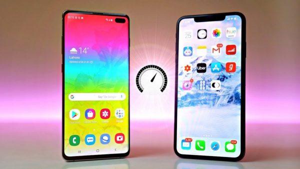 GalaxyS10+ vs iPhone Xs max
