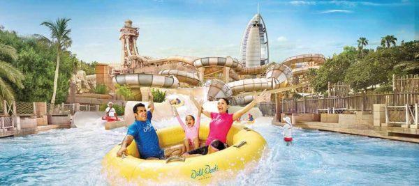 Enjoy Rides at Wild Wadi Water Park